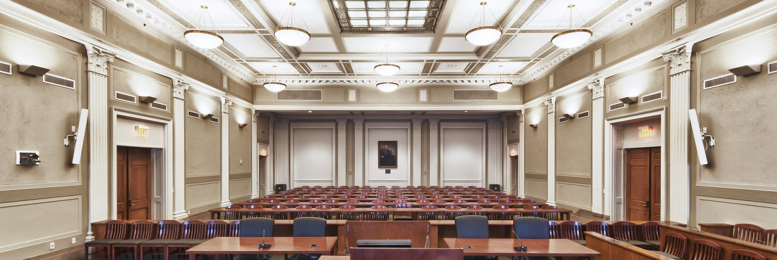 Historic courtroom